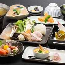 『彩り』コースお料理一例(イメージ)