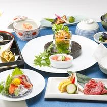 ◎『彩り』コースお料理一例(イメージ)夏