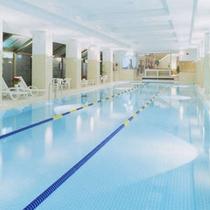 【温水室内プール】25m3レーン