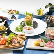 ◎素材にこだわった【芦ノ湖会席コース】お料理一例(イメージ)夏