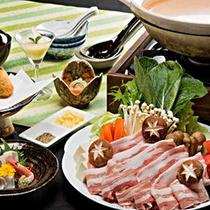 冬のあったか鍋プランお料理一例(イメージ)