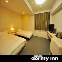 ◆ツインルーム 22㎡ ベットサイズ100cm×205cm(2台)
