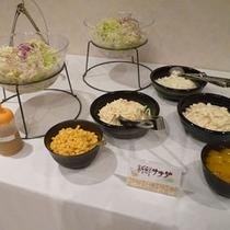 朝食の一例(サラダ)