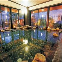 湯の華銭湯 瑞祥(松本館)入浴チケット付きプラン   内風呂