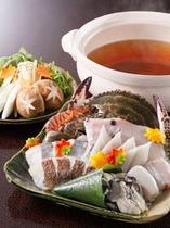 冬限定鍋プラン♪魚介寄せ鍋・とり鍋・しゃぶしゃぶ・すき焼きなど選択OK