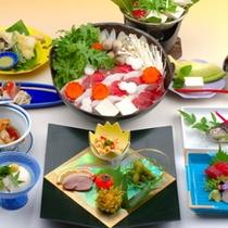 しし鍋料理 例