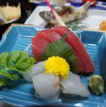 お造り ~豆腐料理・しし鍋料理コース 共通~