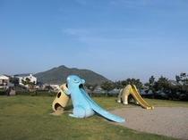 台場公園(お子様の遊具)