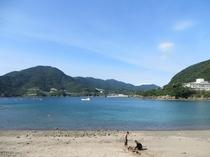 坊津海水浴(輝津館前)