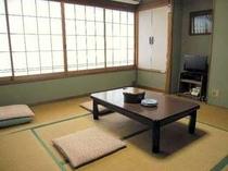 【梅】8畳タイプの和室一例:2〜3名にて利用OK