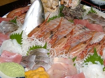 地物魚のお造り