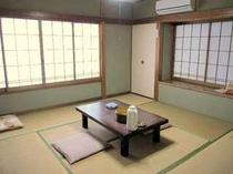 【松】8畳タイプの和室一例:2〜3名にて利用OK