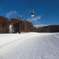 【冬】完璧な圧雪