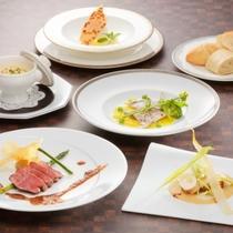 """フランス料理フルコース""""エートル~山と海の幸のハーモニー~""""(イメージ)"""