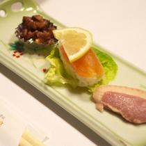 *【夕食例】旬の山川の味覚をお楽しみ下さい。