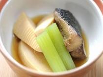 竹の子と鰊の煮物