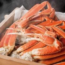 蟹蒸篭プランお料理一例