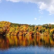 秋の松原湖
