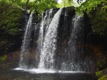乙女の滝 滝つぼ