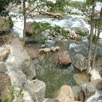 蒲田川間近の貸切露天風呂(かじかの湯)