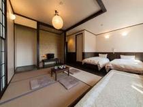 No1和洋室をモダンにリニューアルしました。5名様までご利用頂けます。27㎡の広い和洋室です!