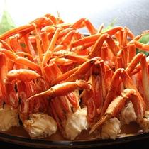 【ズワイガニ食べ放題】季節限定のズワイガニ食べ放題プラン、12月から1月末ごろ