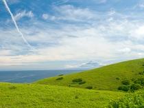 まるで北欧のような木々の無い丘をご覧いただけます