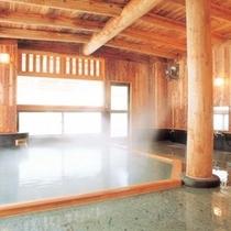 男子大浴場■