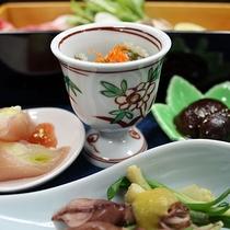 【ご夕食「前菜」】(一例)