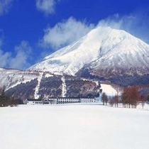 冬のグランドサンピア猪苗代リゾートホテル&スキー場