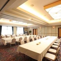 【バンケットホール Crystal Room(1階)】収容人数は80名です。