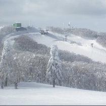 蔵王温泉スキー場の風景①