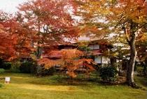 格知学舎⇒秋の紅葉は絶景♪ホテルより車で10分