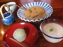 甘味処「腰掛庵」の人気メニュー