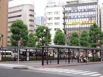 バス乗り場 羽田空港や大田市場へはこちらから