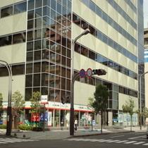 フォレスト仙台(宮城教育会館)ホテルより徒歩1分!