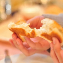 ご要望がおおかったパンも和洋バイキング朝食にご用意してます