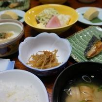 【お料理】朝食(一例)