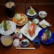 【お料理】料理勝負プラン(ご夕食一例)