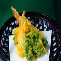 【お料理】珍味!青海苔の天麩羅