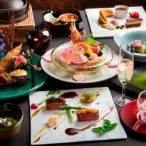 【2017春のお献立】和食とフレンチを融合し、食材の魅力を最大限に引き出す和洋会席