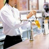 地ビール工場レストランの出来立て妙高高原ビール