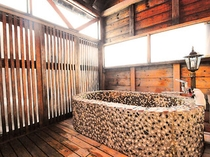 冬期間【露天風呂付客室】(洋室・石造り浴槽)