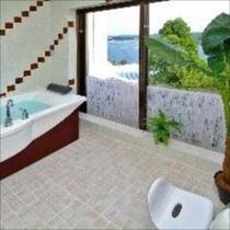 貸切風呂一例※貸切風呂はユニット式展望風呂です