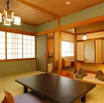 坪庭付特別室一例