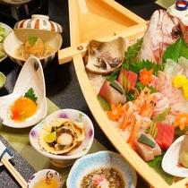 舟盛付会席お料理一例