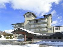 冬のホテル 全景