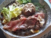 すき焼き鍋ご膳2
