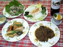 夕食(一例です★)