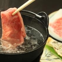 一噛みでわかる上質の【信州プレミアム牛肉】 のしゃぶしゃぶ 召し上がれ
